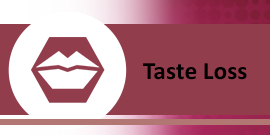 Taste Loss Button - Loss of Sense of Smell